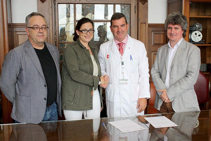 De izquierda a derecha Pablo Susinos, Miriam Díaz, Julio Pascual y Mario Corral. FOTO: Gabinete de Prensa