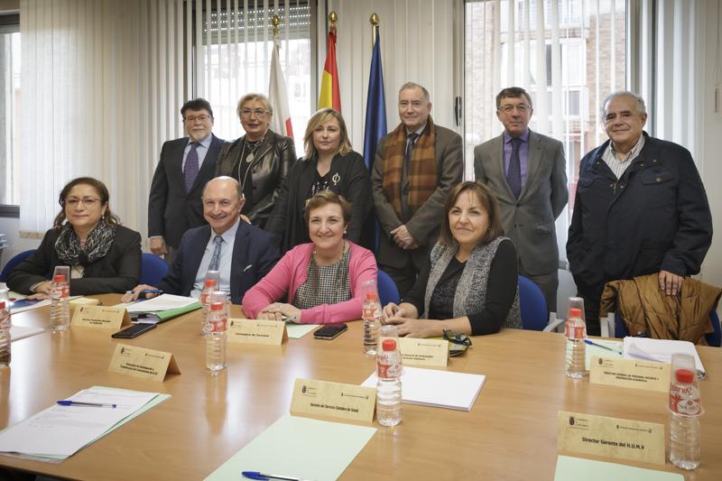 La consejera de Sanidad ha presidido hoy la reunión ordinaria del Patronato de la Fundación Marqués de Valdecilla