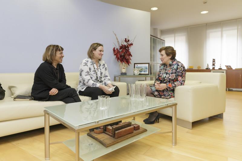María Luisa Real y la presidenta de COCEMFE destacan el éxito del Programa