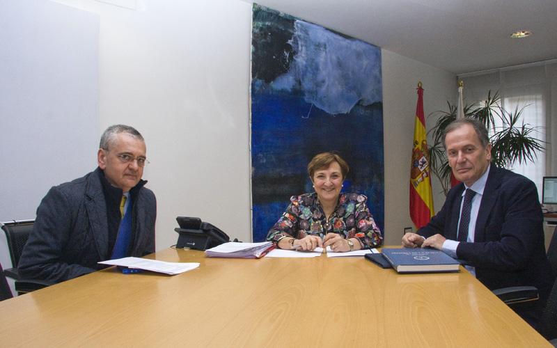 María Luisa Real se reúne con Luis Javier Álvarez, presidente de la SEACV