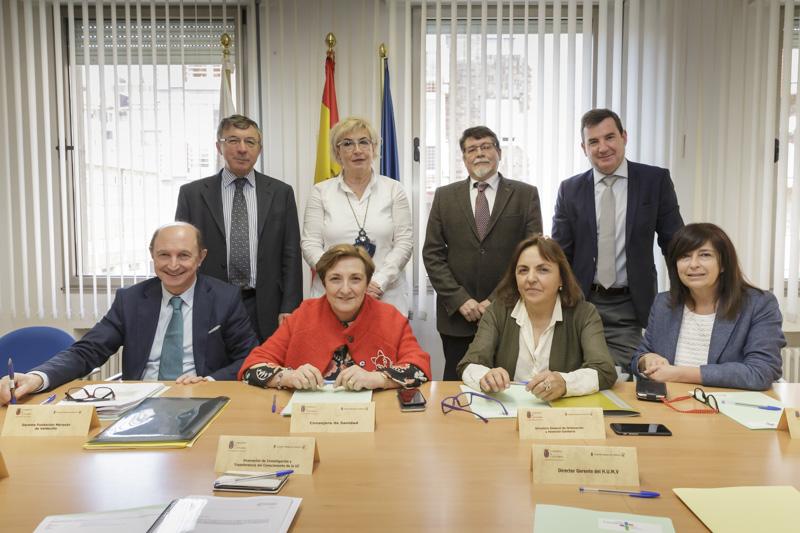 La consejera de Sanidad preside la reunión ordinaria del Patronato de la Fundación Marqués de Valdecilla