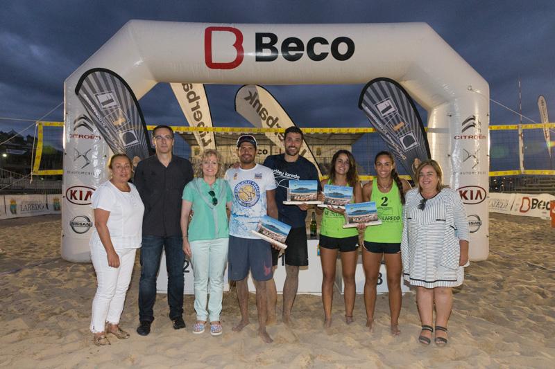 Díaz Tezanos asiste a la entrega de premios del Torneo Internacional de Voley Playa 'Villa de Laredo'