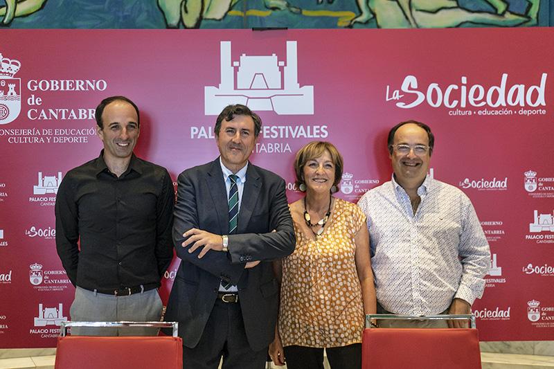 Un total de 47 propuestas conforman la nueva temporada del Palacio de Festivales para los próximos meses