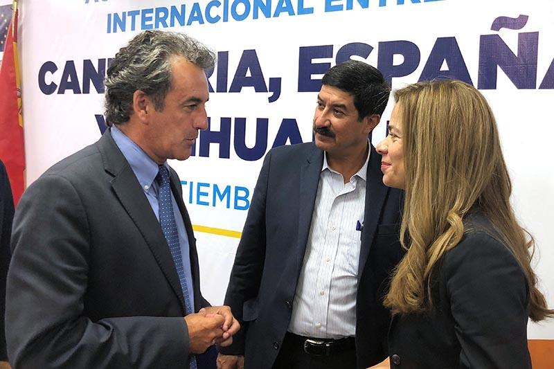 El Gobierno de Cantabria firma un acuerdo de colaboración con el Estado de Chihuahua que propicia el intercambio en innovación