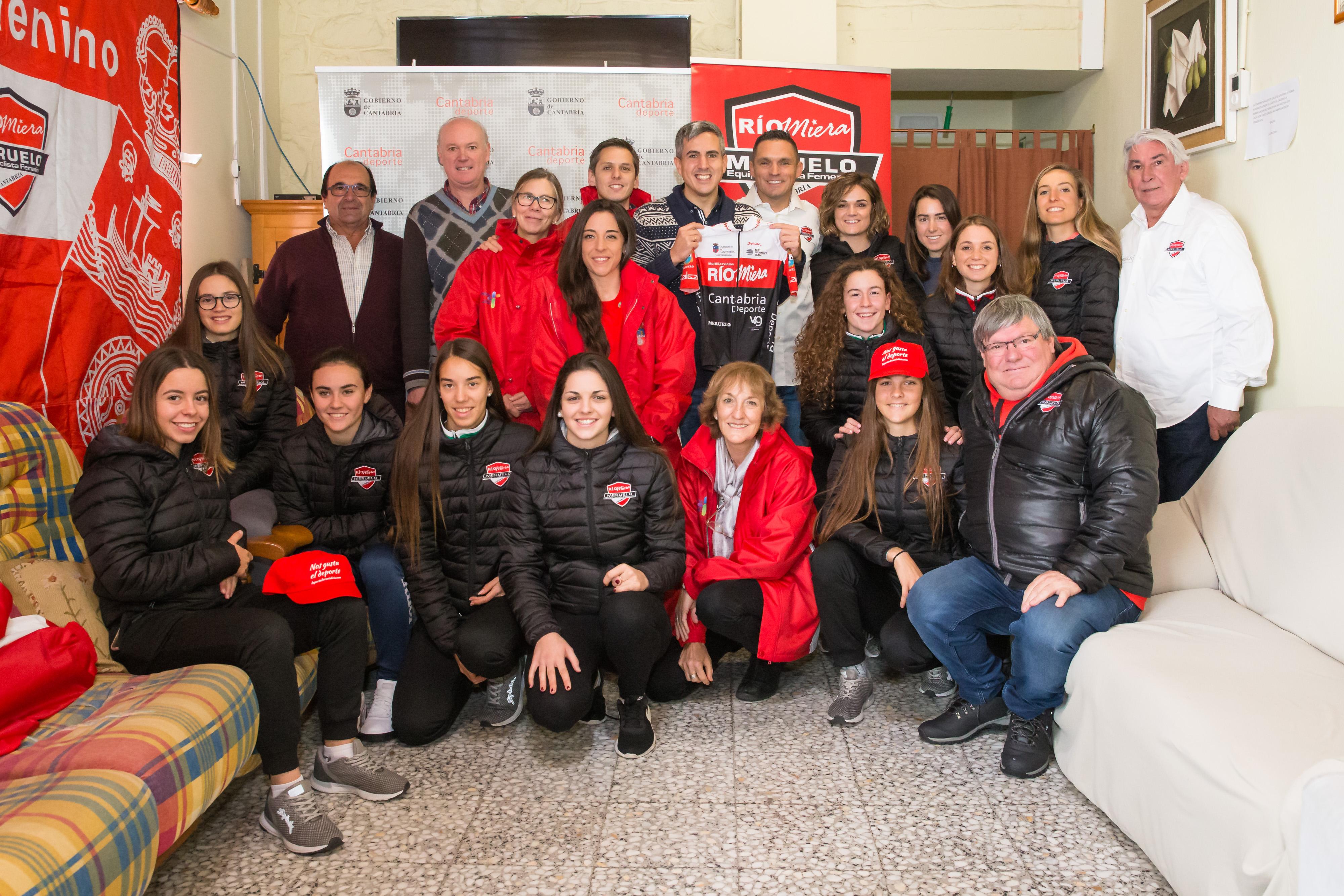 Zuloaga felicita al 'Rio Miera-Cantabria Deporte' por su reconocimiento como el primer equipo femenino profesional de Cantabria