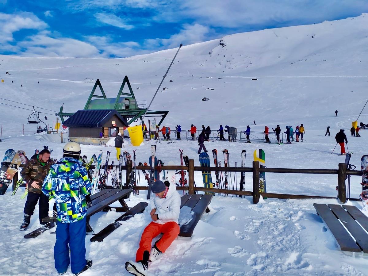 La Estación Alto Campoo roza los 30.000 visitantes en los primeros cincuenta días de la temporada