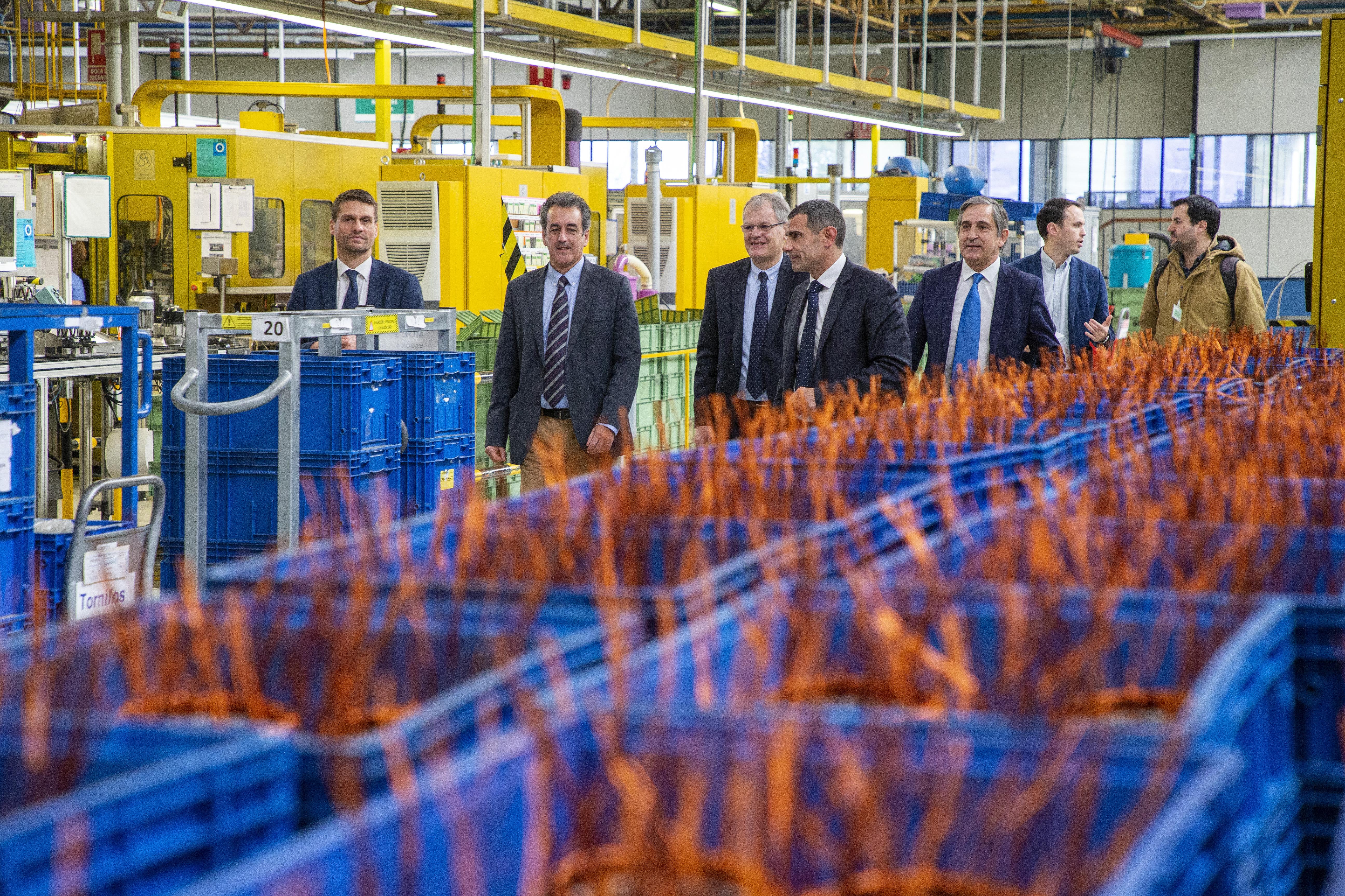 Martín se entrevista con el presidente europeo de SEG Automotive y conoce el proyecto del