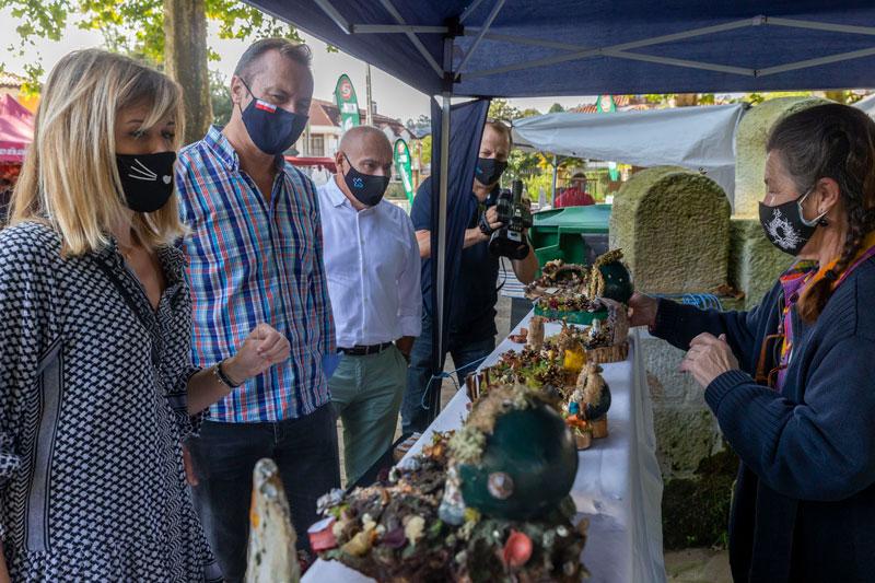 Blanco asegura que la celebración de ferias agroalimentarias confirma que los productores y artesanos