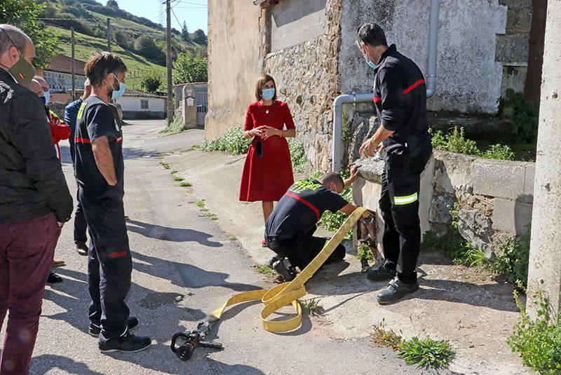 La Consejería de Interior destina 285.000 euros a material para las agrupaciones municipales y la instalación de hidrantes