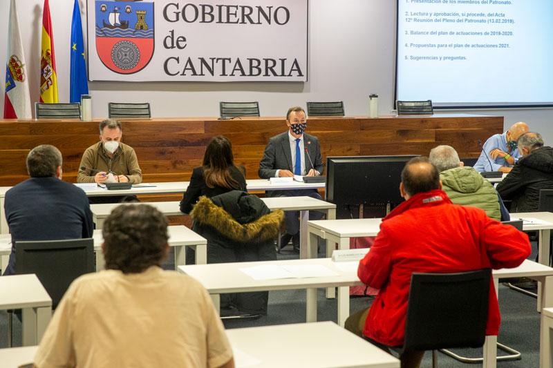 Blanco aboga por la dinamización de los espacios naturales protegidos de Cantabria y su desarrollo sostenible