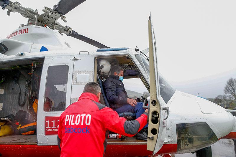 Cantabria incorpora un segundo helicóptero para reforzar la respuesta ante emergencias, incendios forestales e inundaciones