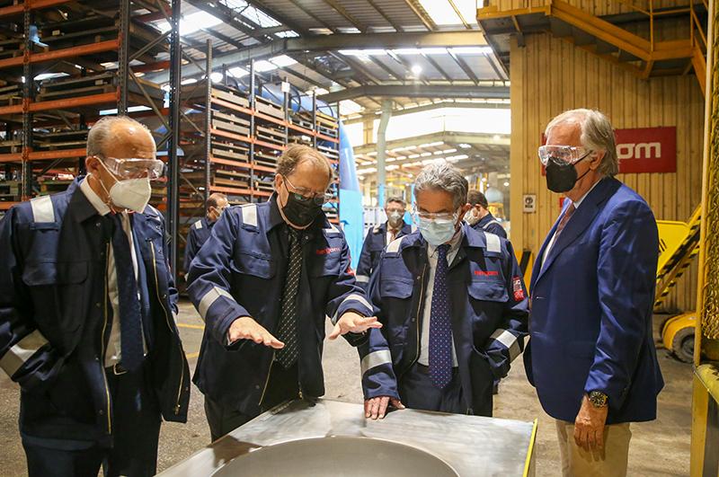 El Gobierno pone a disposición de Hergom sus líneas de ayudas para modernizar sus instalaciones y apoyar su crecimiento
