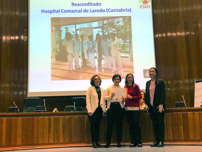 El Hospital de Laredo renueva oficialmente su acreditación como centro comprometido con la maternidad consciente, respetuosa e informada
